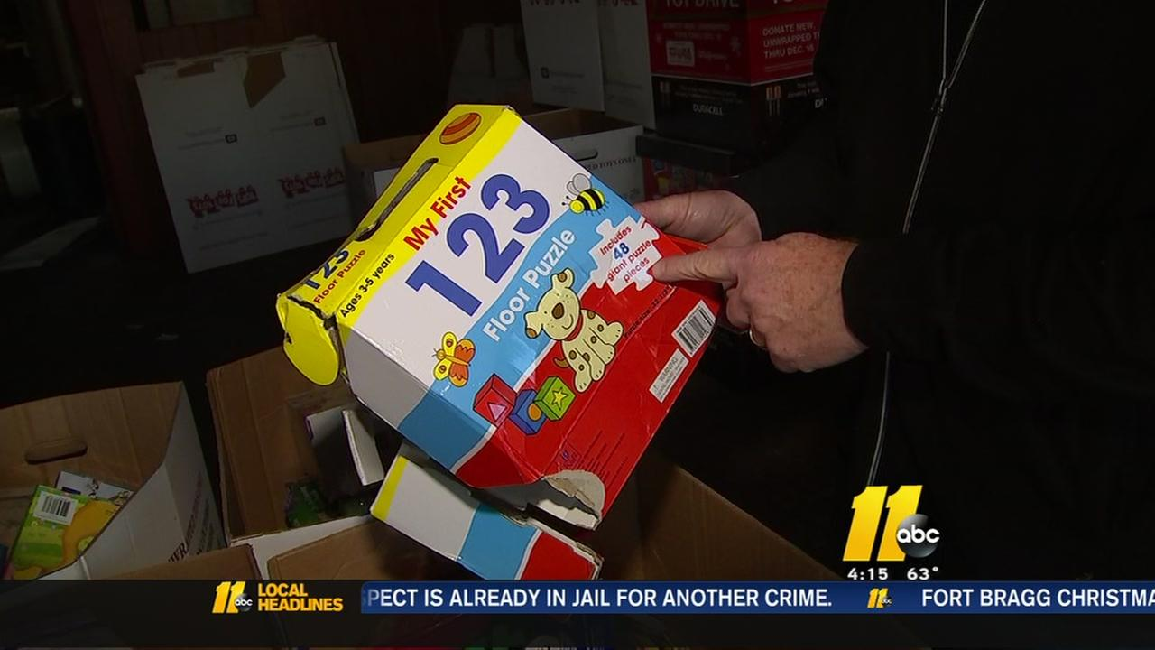 Toys for Tots in Lee County reeling after theft discovered
