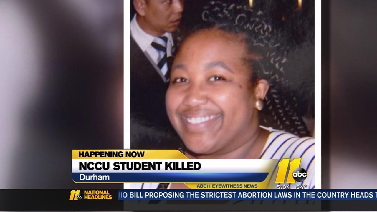 NCCU senior killed in crash
