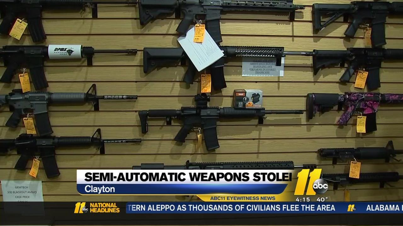 Theres a disturbing gun-theft trend in North Carolina