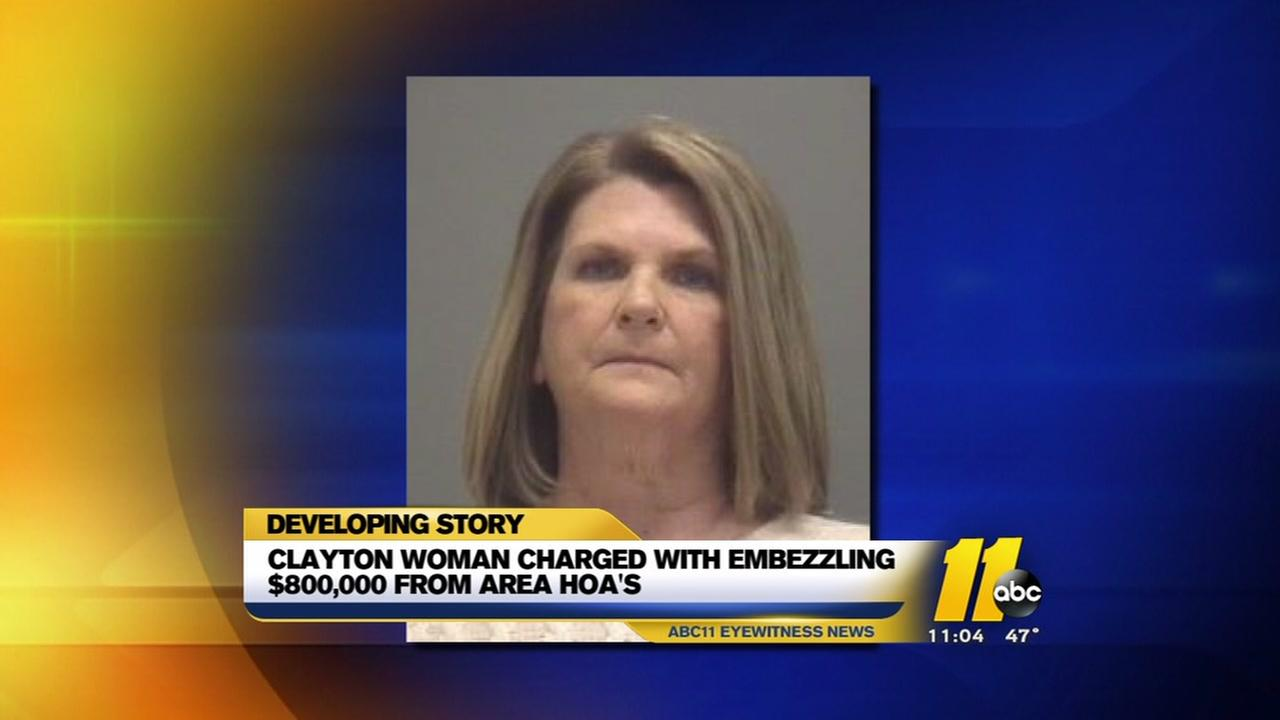 Woman charged with embezzlement in HOA fraud investigation