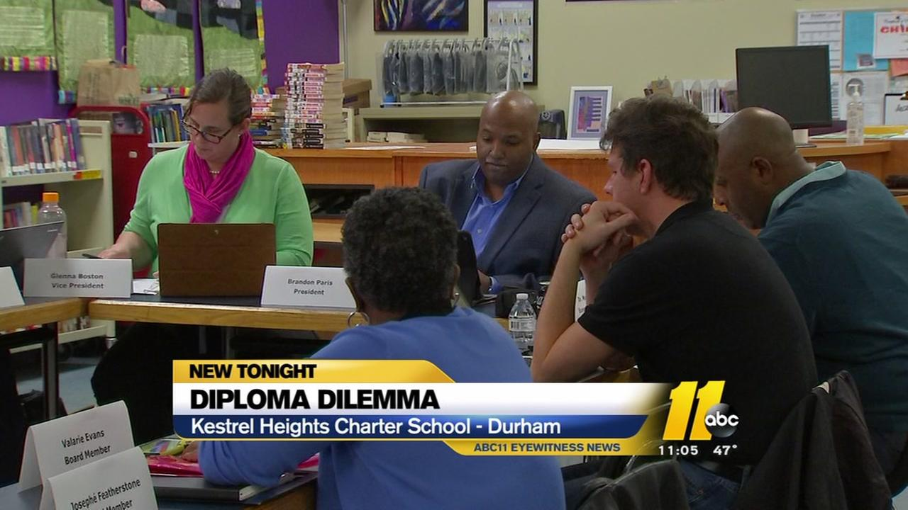 Diploma dilemma continues at Kestrel Heights Charter School