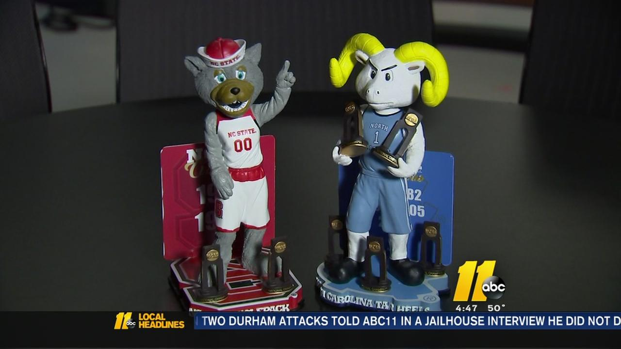 Limited edition bobbleheads