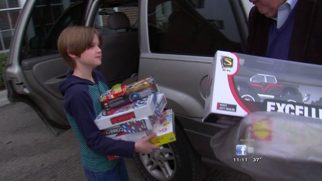 An 11 Year Old Durham Boy Donates His Birthday Gifts To Durham