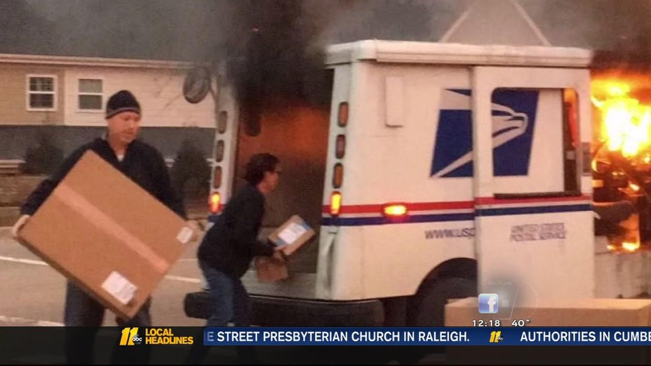 Good Samaritan helped letter carrier save packages