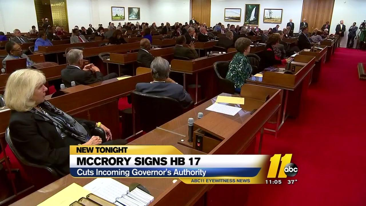McCrory signs House Bill 17 into law