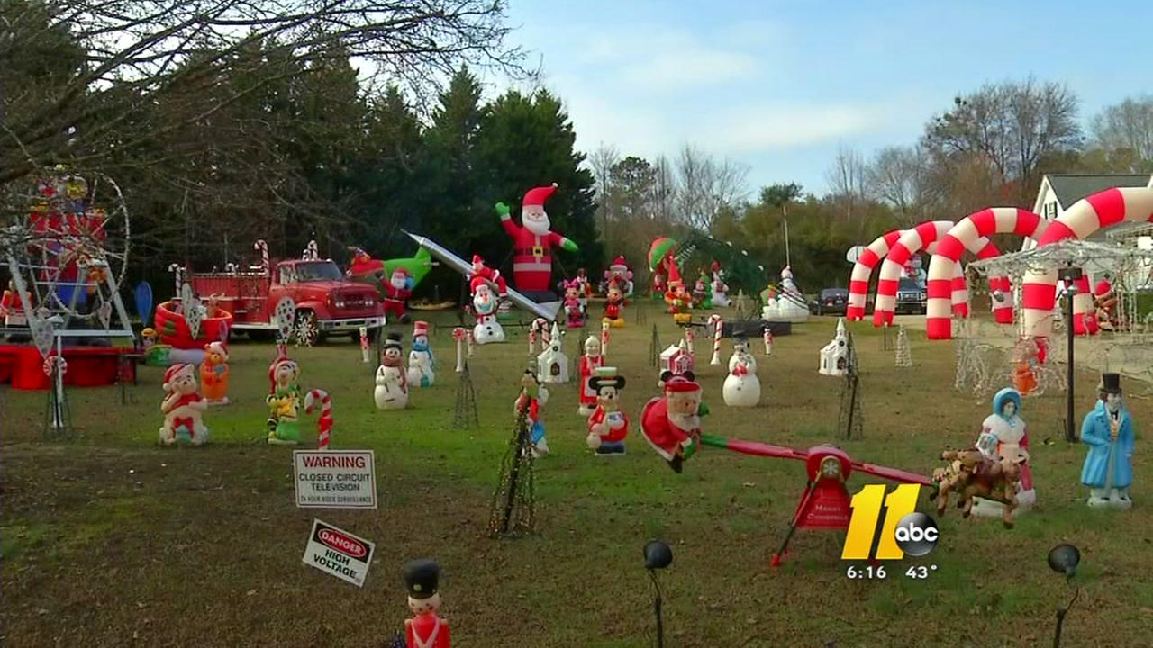 Happyland Christmas Lights are another Triangle winner