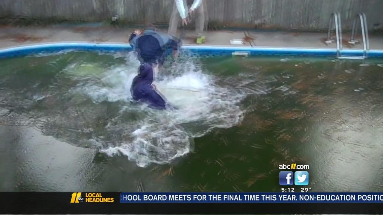 Frozen pool run fail
