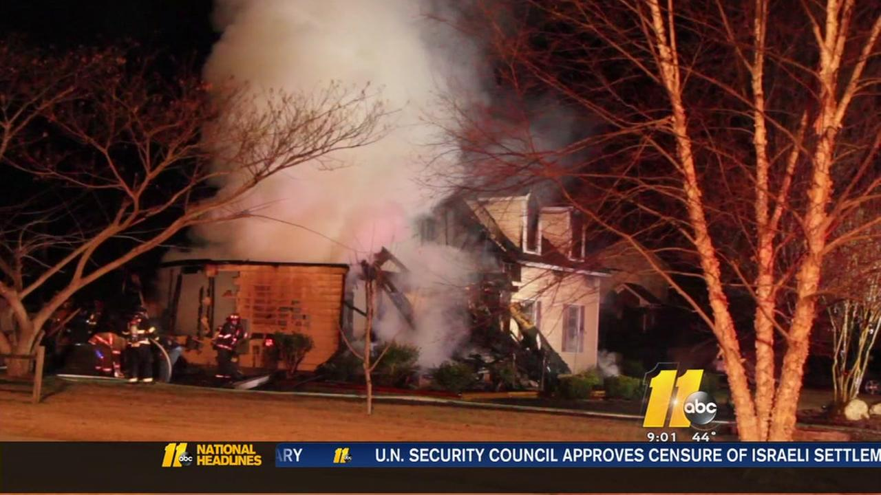 Fire breaks out at Fayetteville home