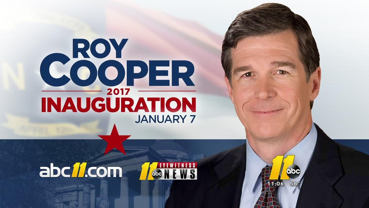 Details about Roy Coopers inauguration
