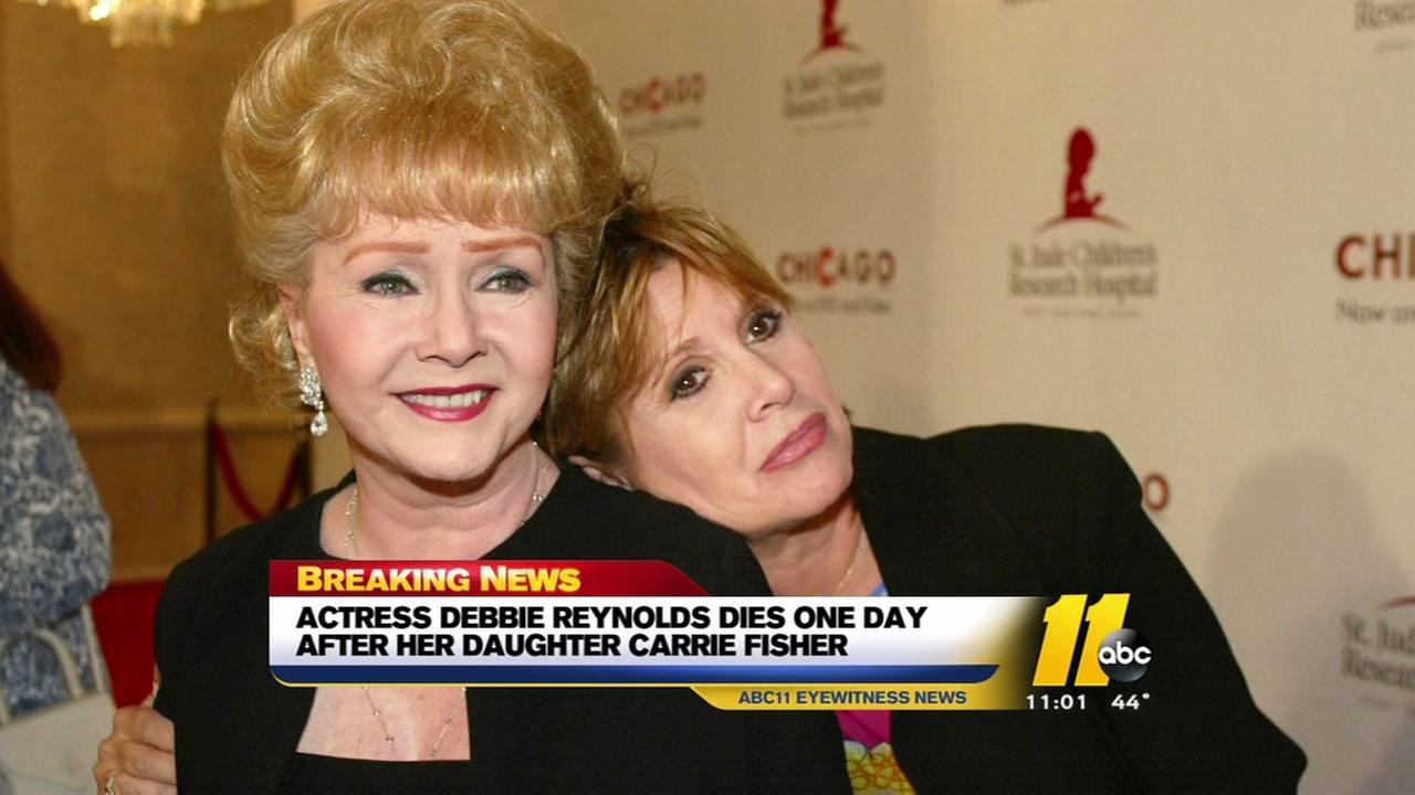 Debbie Reynolds dies
