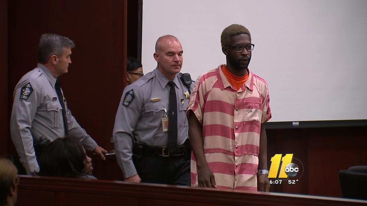 Murder suspect appears in court