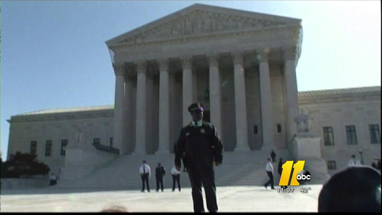 Supreme Court puts hold on lower courts order to NC