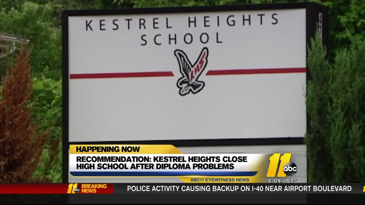 State board says close Durhams Kestrel Heights high school