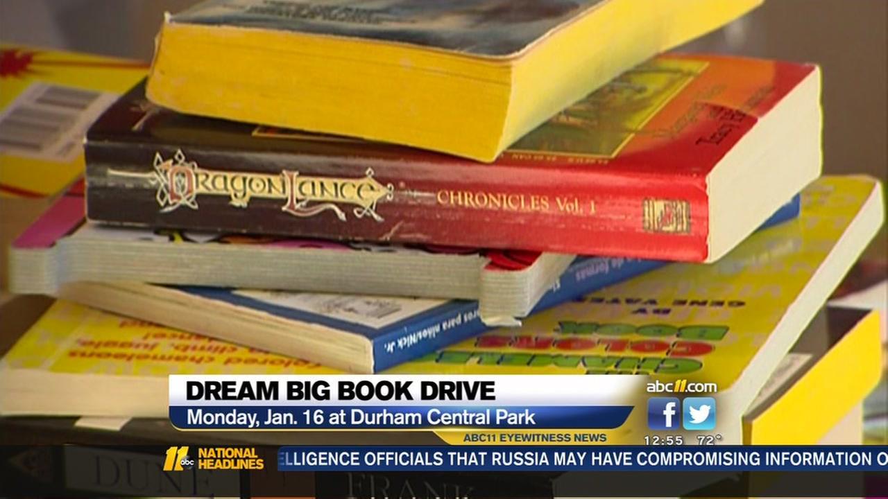 Book Drive Celebrates MLKs Dream