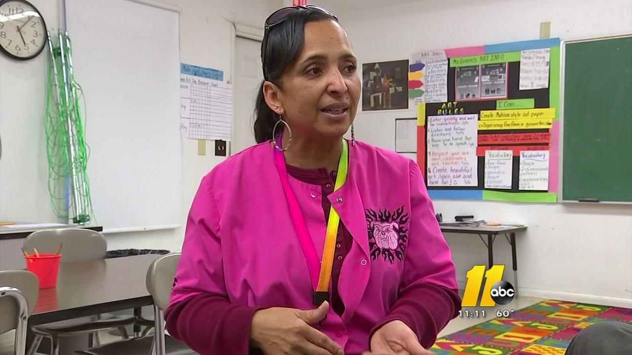 Cumberland County teacher appears on Rachael Ray Show