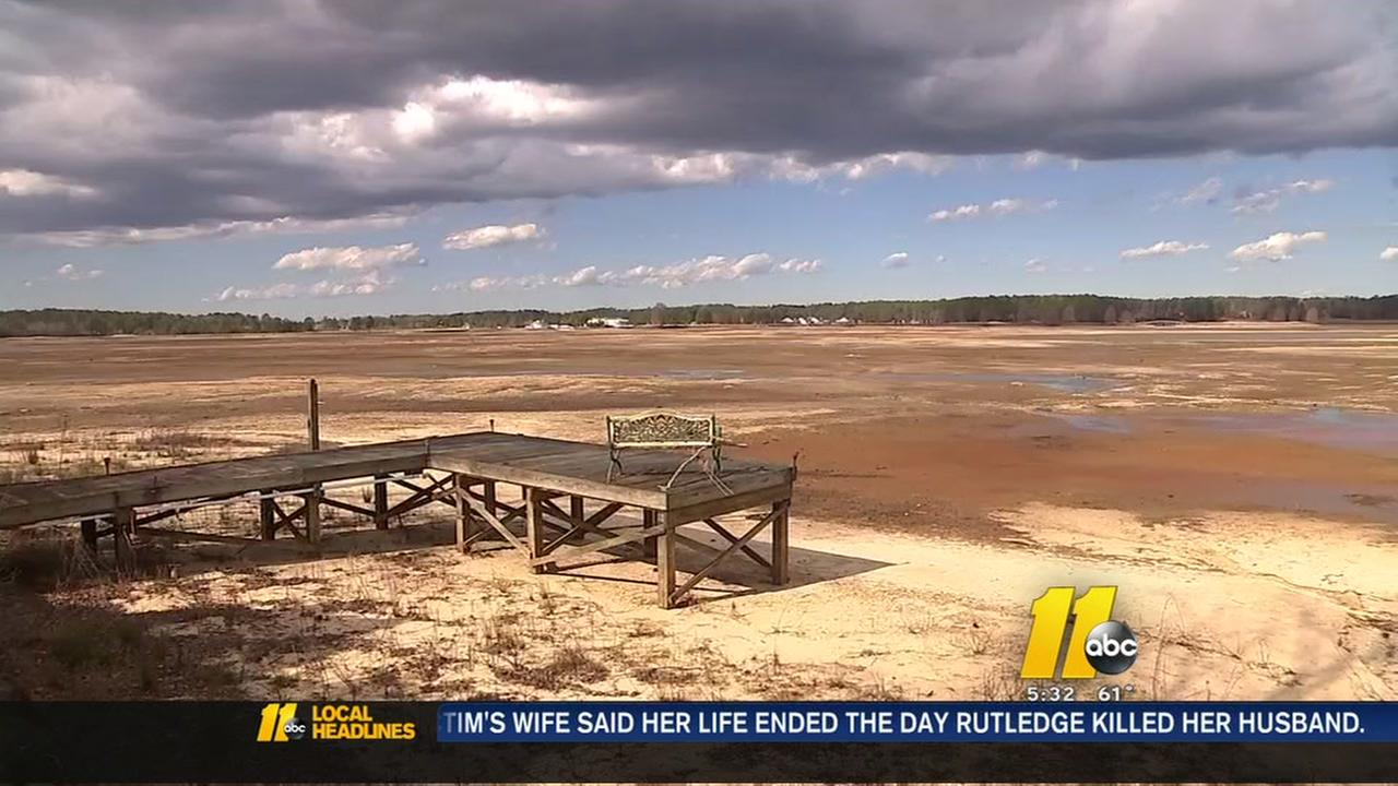 Plans to fix Woodlake Dam stuck in the mud
