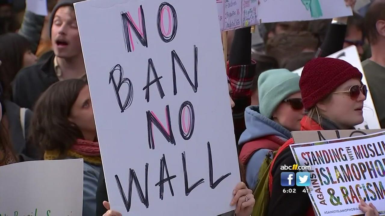 Triangle Congressman questions Trump travel ban