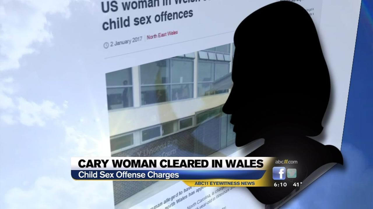 Cary woman cleared in Wales