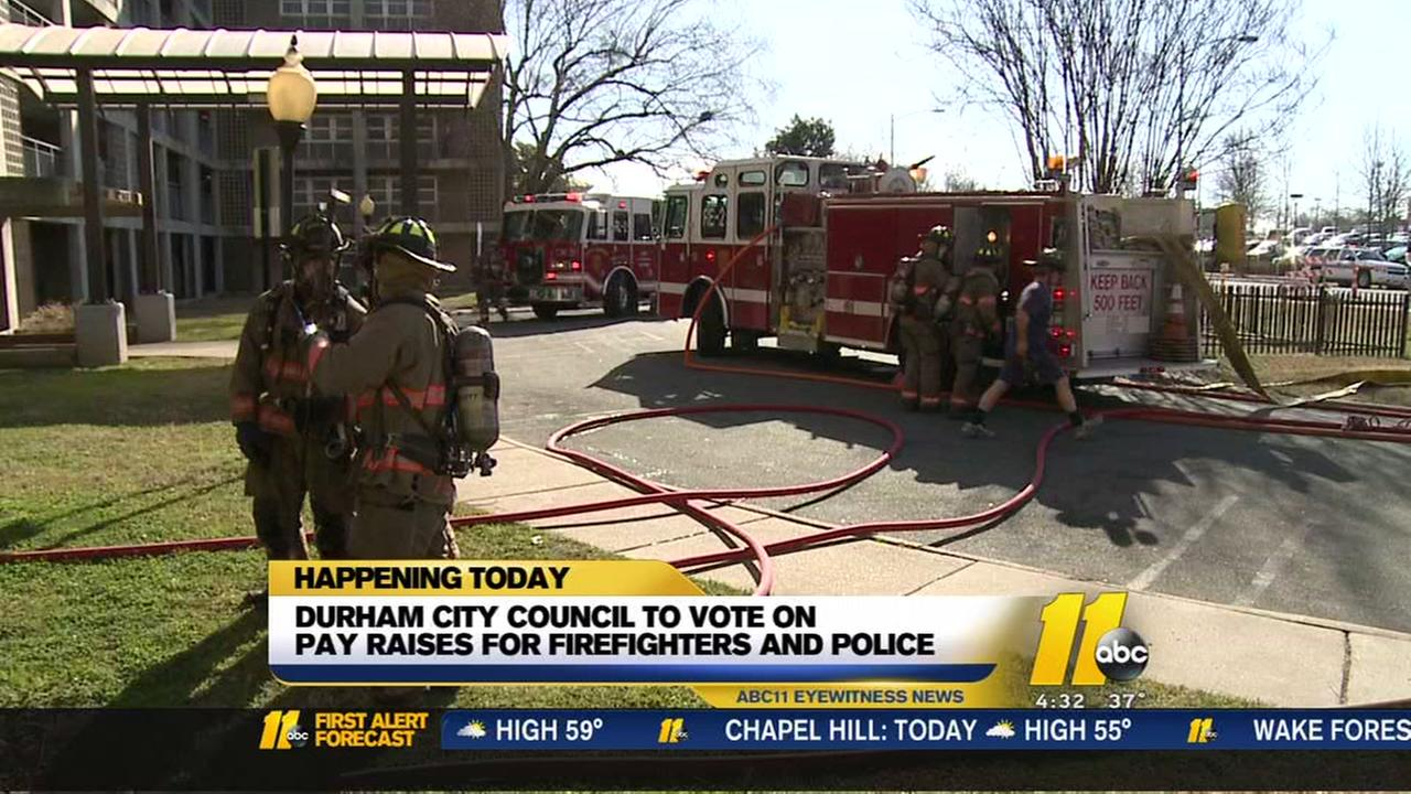 Durham City Council To Take Up Pay Raises For First Responders