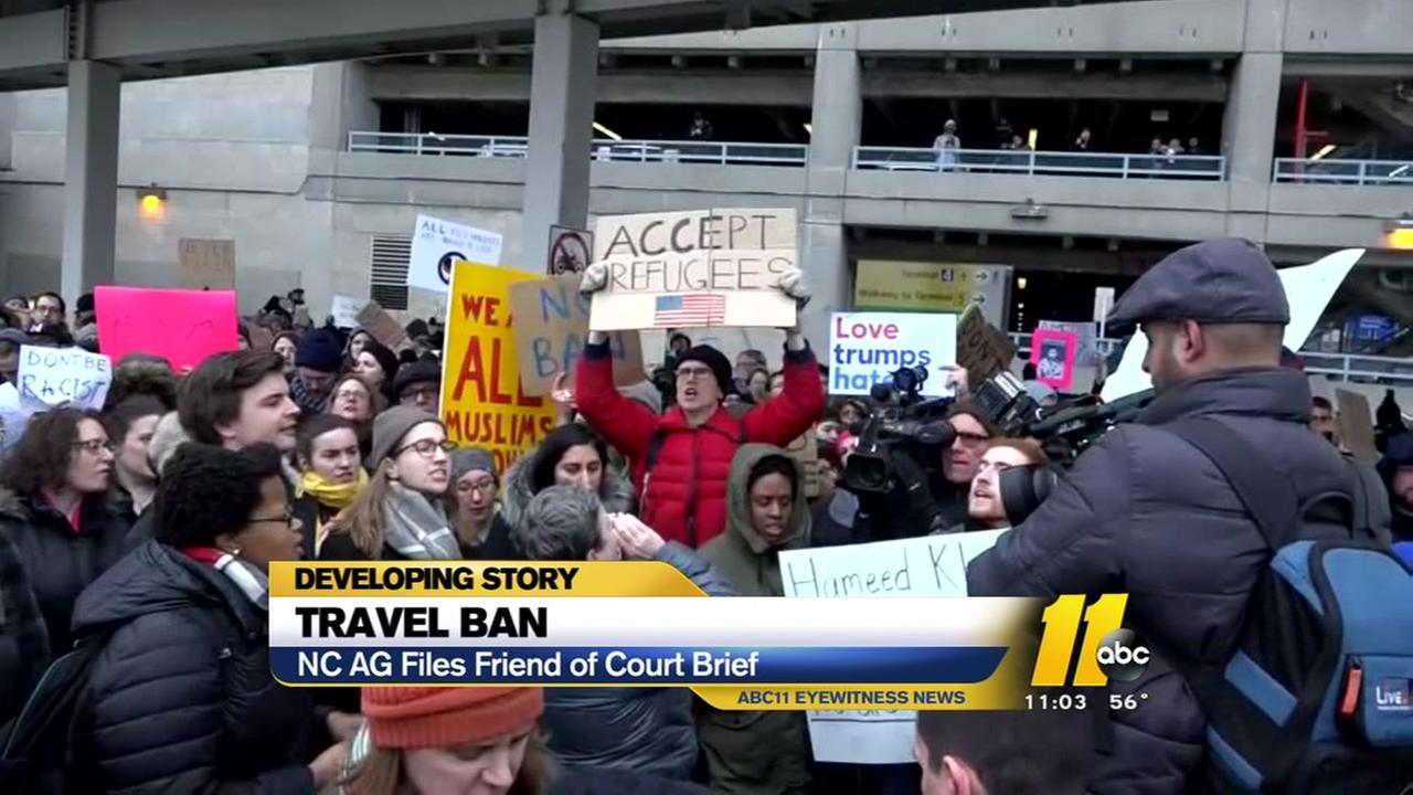 NC Attorney General joins legal scuffle over travel ban
