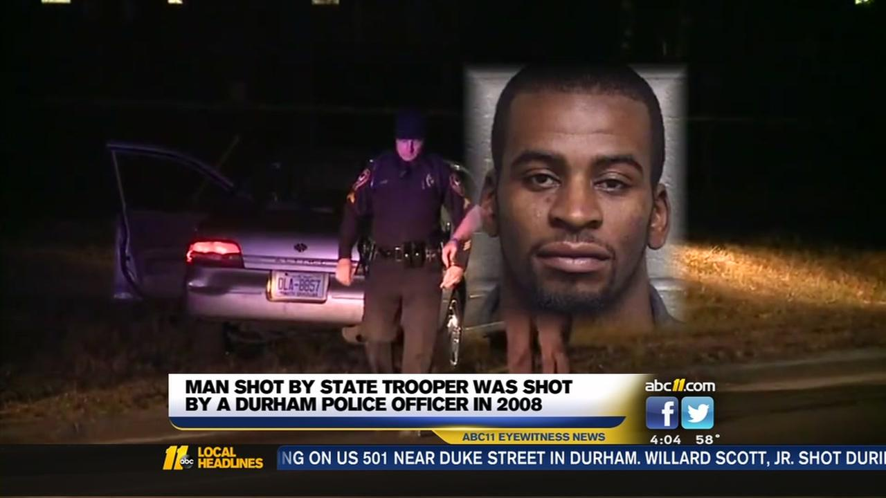Man shot by trooper had bumpy history with law officers