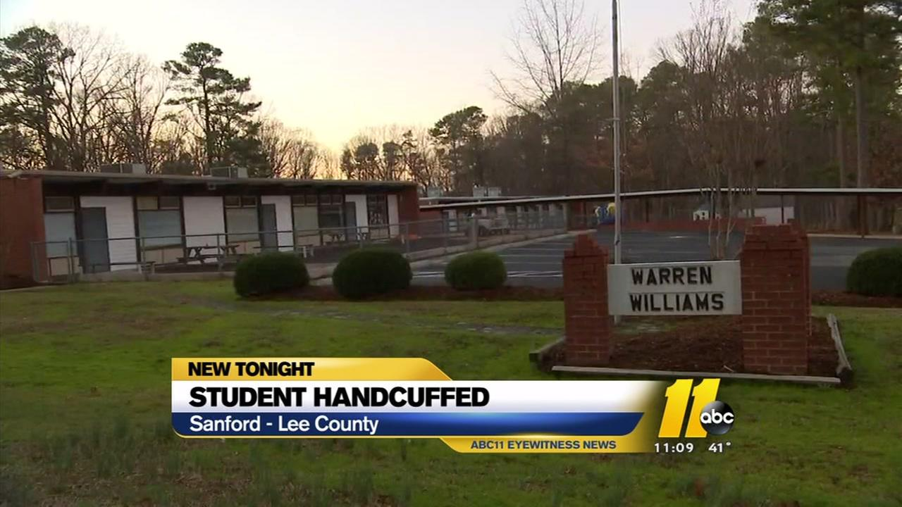 Mother wants answers after student handcuffed