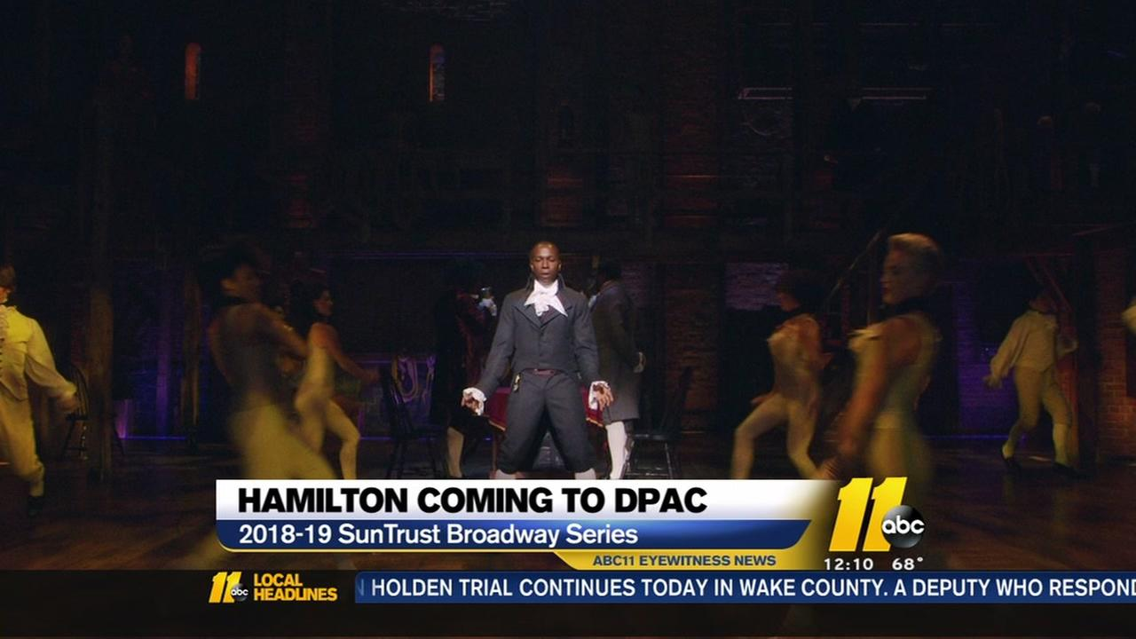 Hamilton Coming To Dpac Abc11 Com