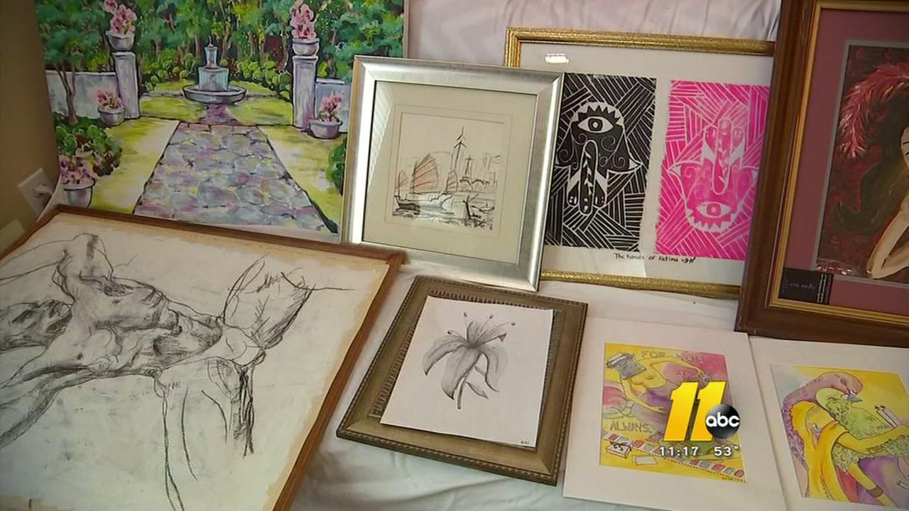 Fayetteville art auction to help Matthew victims