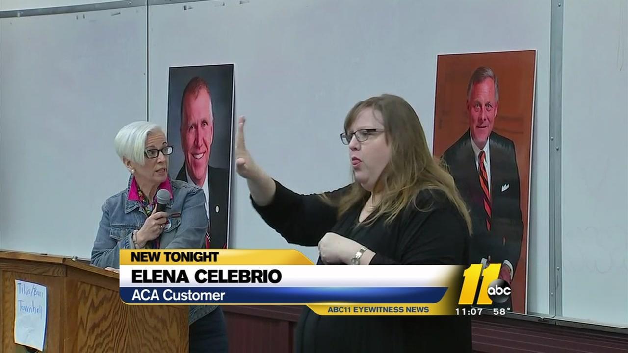 Town Hall participants spout anger