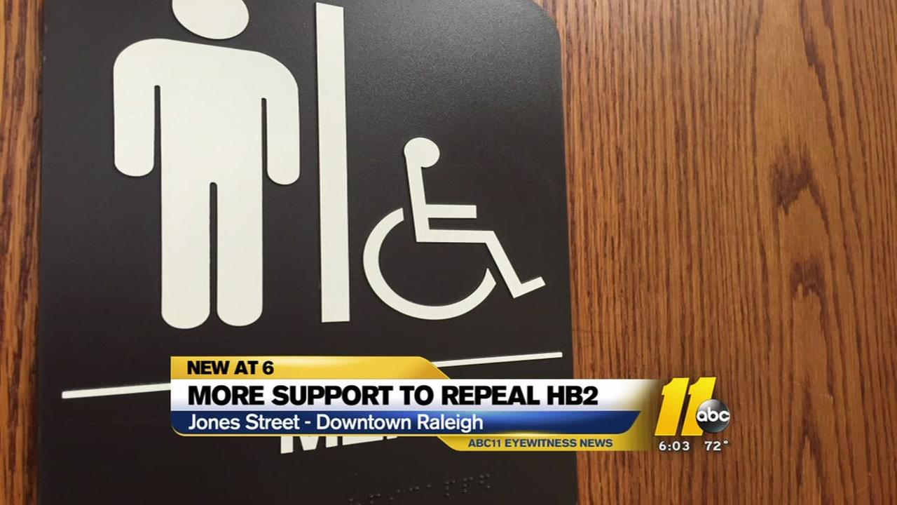 Bill to repeal HB2 gains more backers