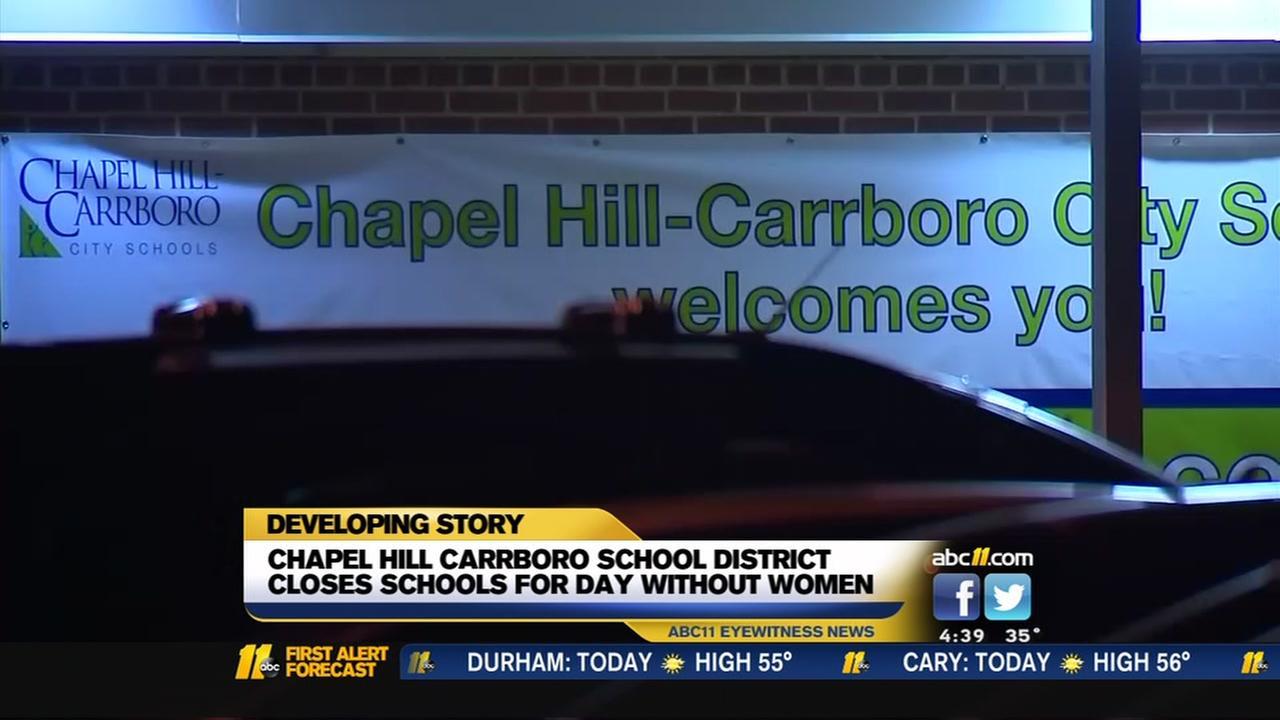 Chapel Hill-Carrboro schools cancel school Wednesday ahead of planned womens strike