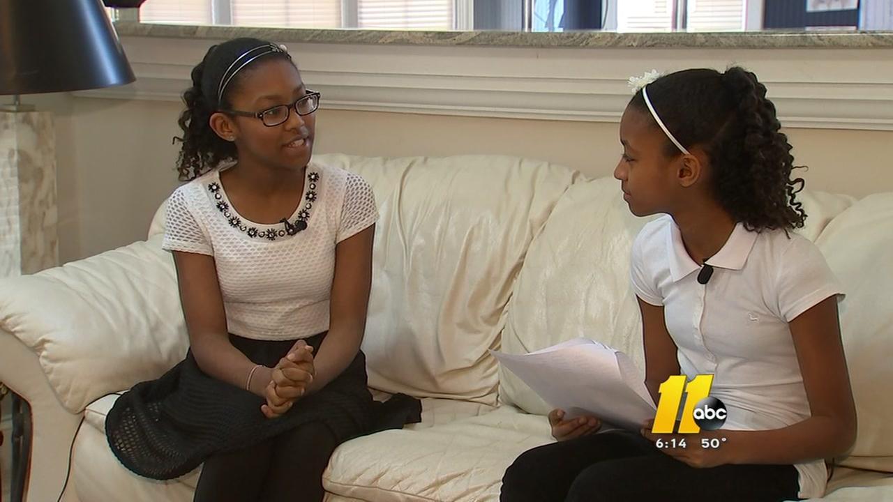 Sisters face-off in regional spelling bee