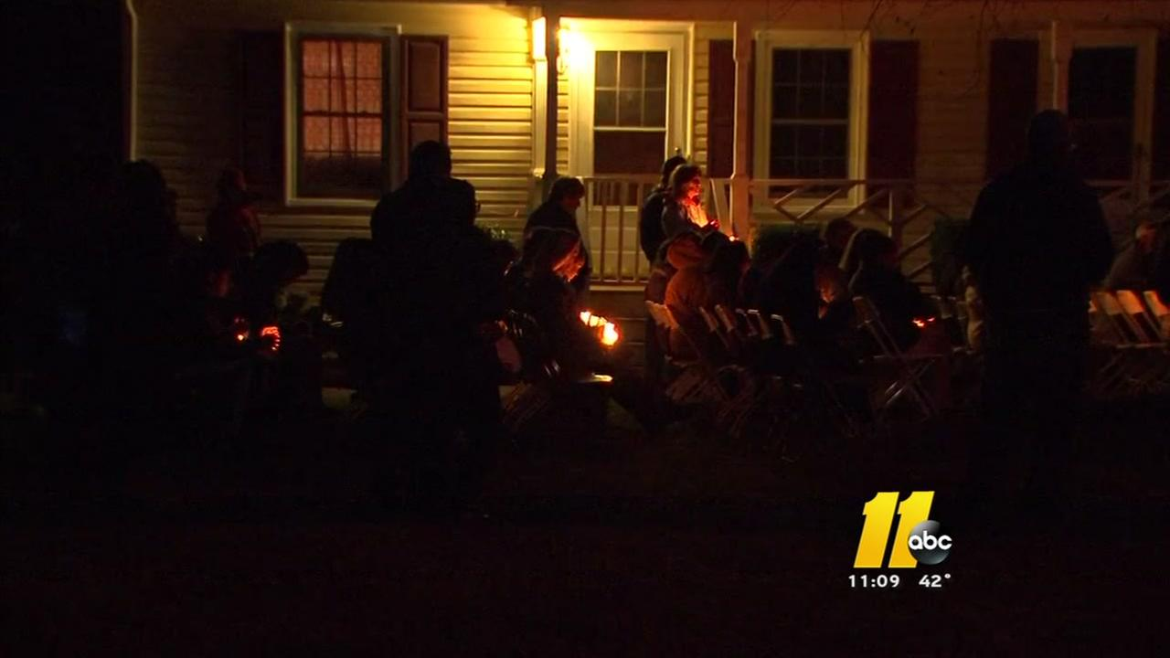 Candlelight vigil honors life of slain Franklin County mom