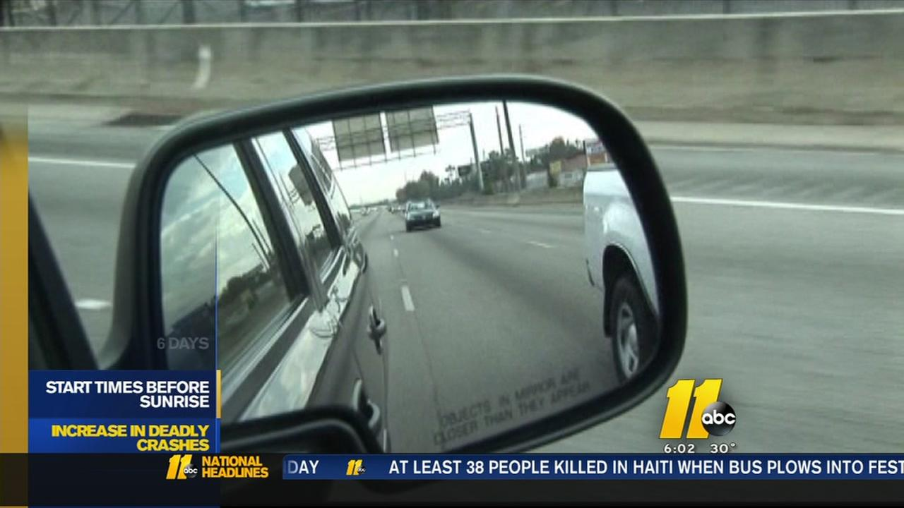 Increase in deadly crashes