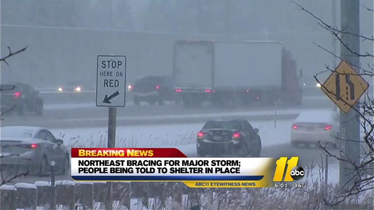 Northeast braces for massive late winter storm