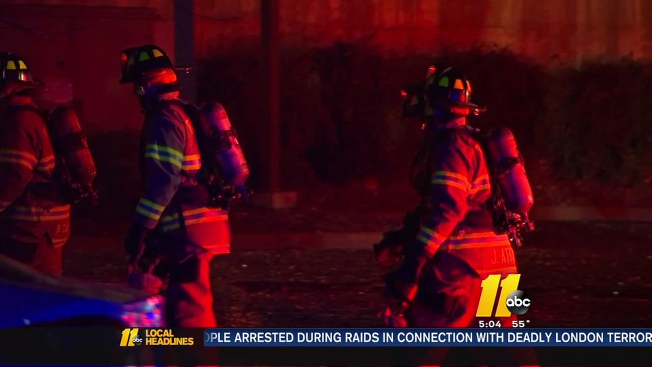 State lawmakers honor Raleigh firefighters