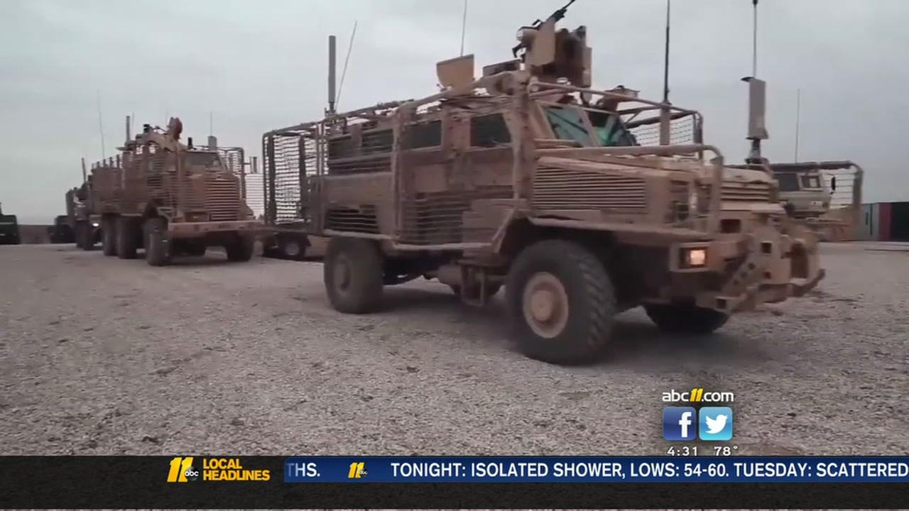 More Fort Bragg troops headed to Iraq