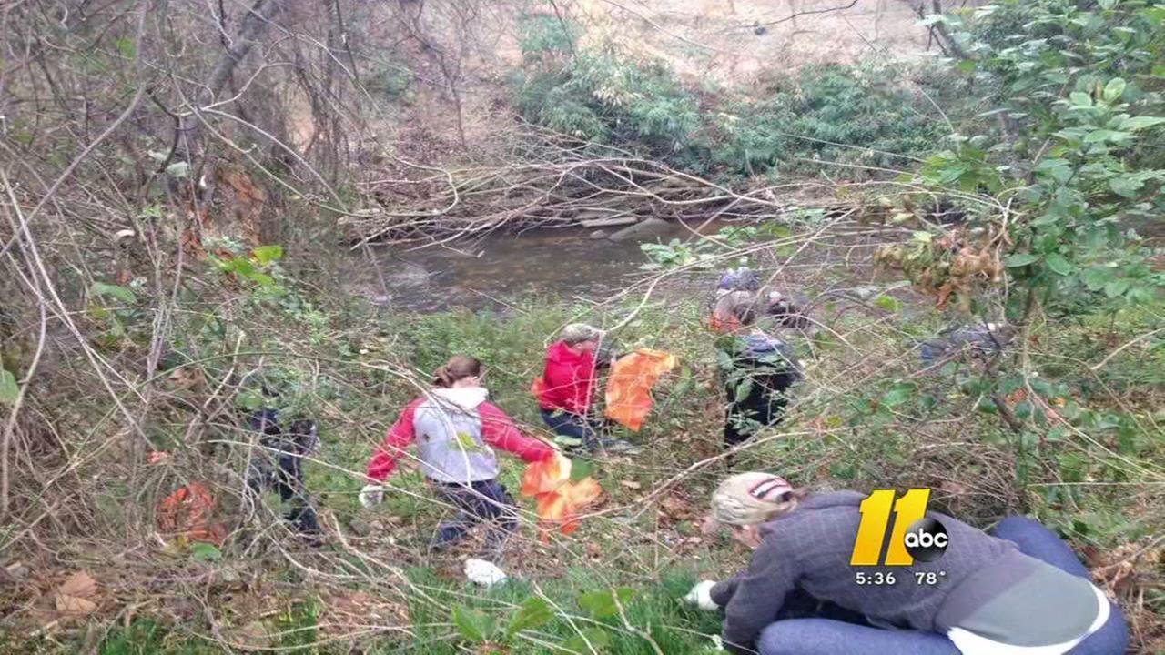 Major cleanup effort underway in Fayetteville