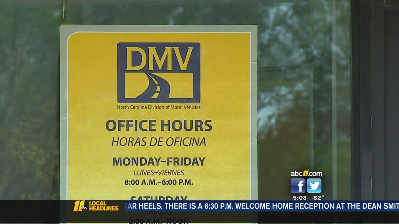 Personal info compromised at NC DMV