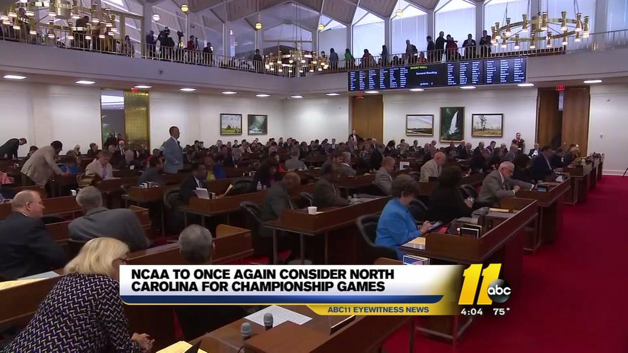 With HB2 repeal, NCAA satisfied with North Carolina