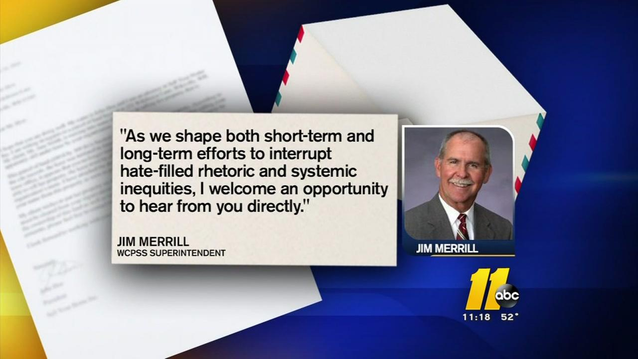 WCPSS superintendent responds to civil rights leaders