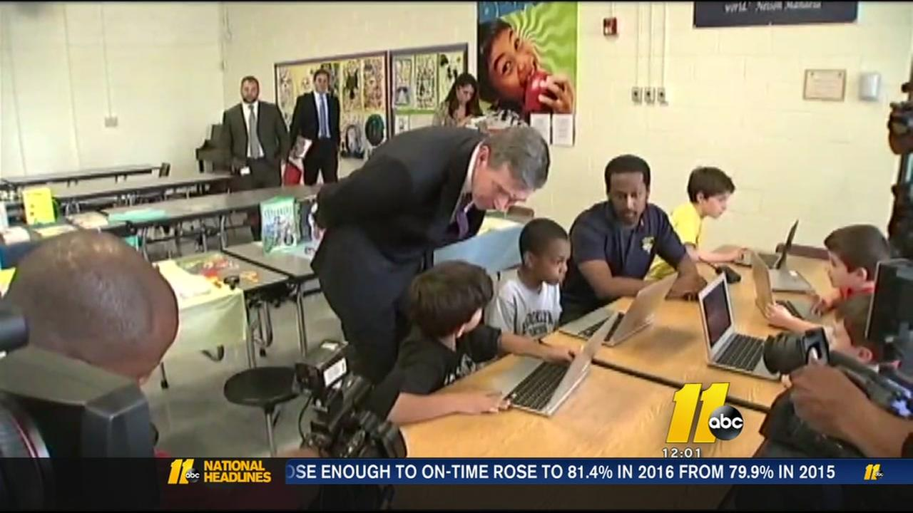 Governor Cooper 100 days on the job