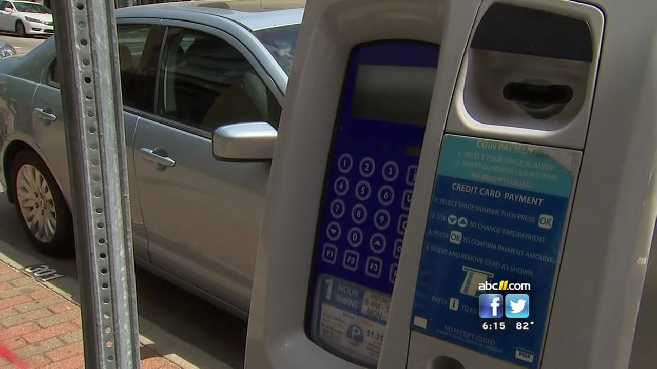 Paying more to park in Raleigh