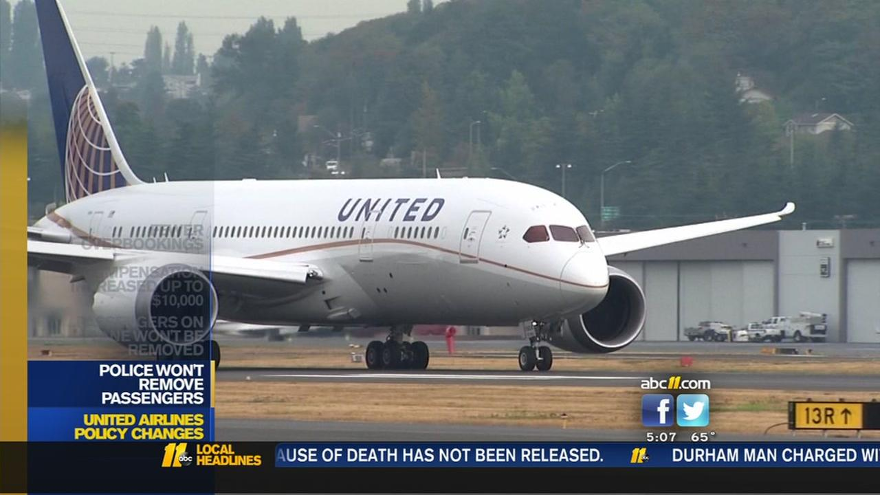 United Airlines making changes after man dragged off flight