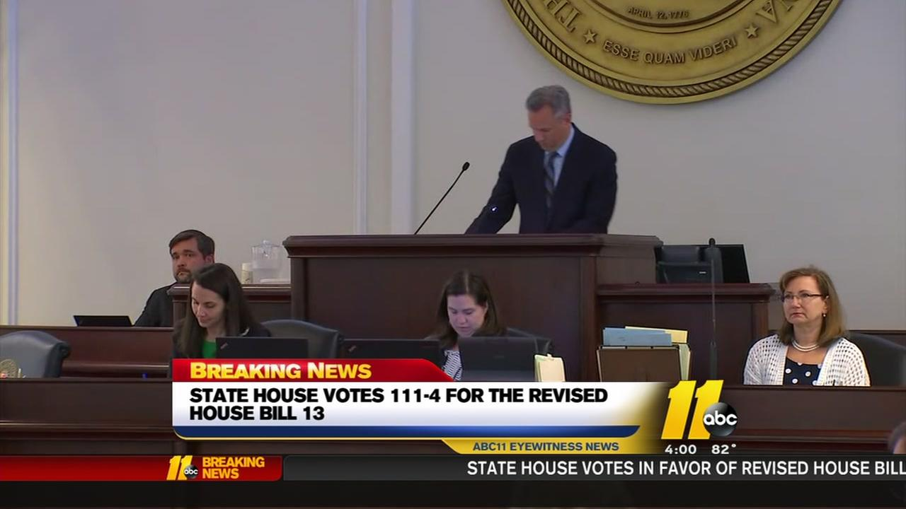 House votes 111-4 for revised House Bill 13