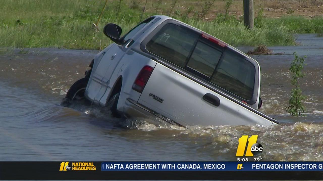 Flooding a continued concern in some areas