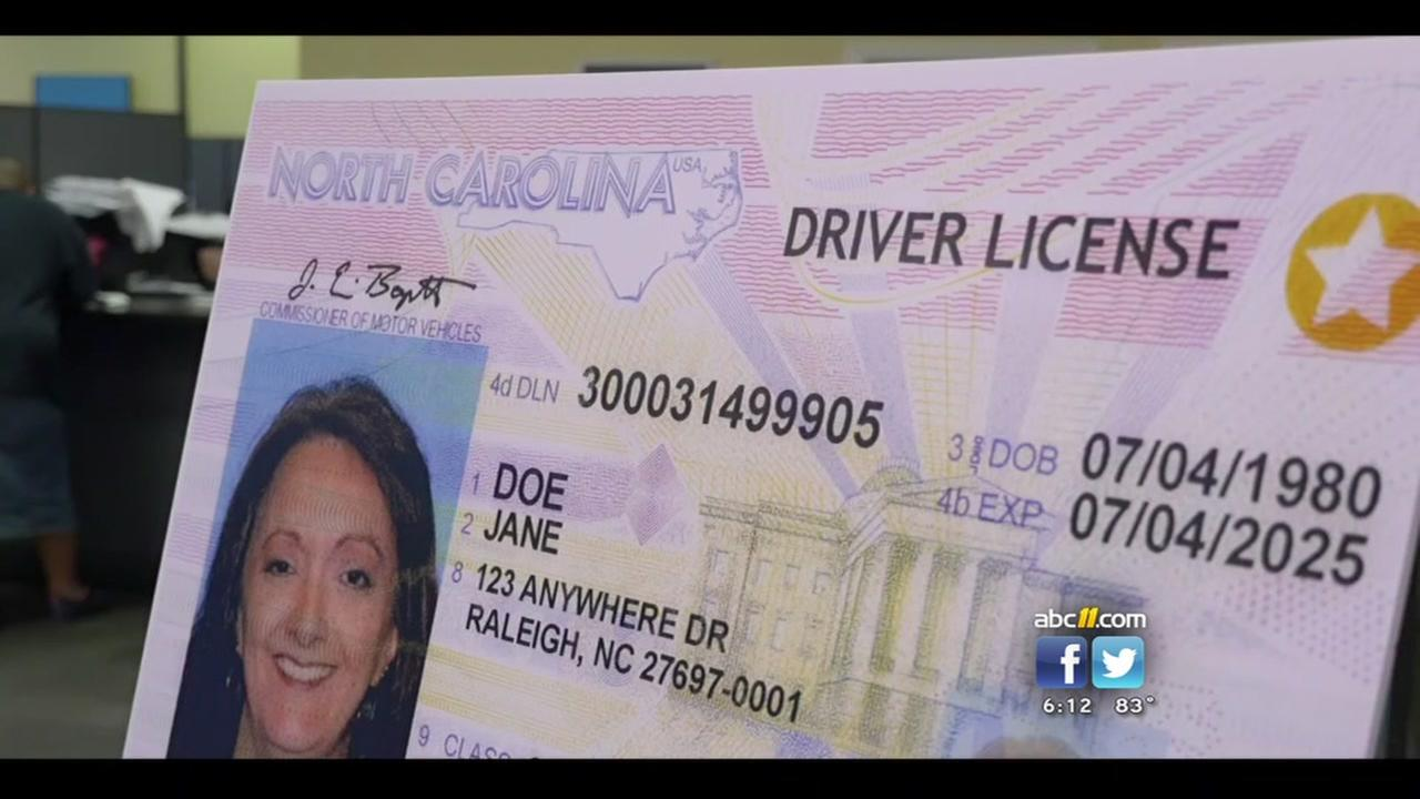 NC DMV now offering Real ID