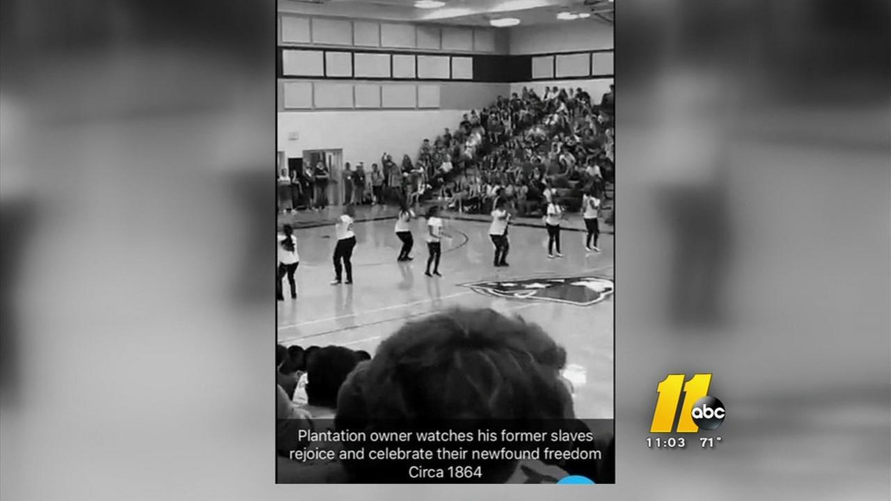 Racist snapchat post mars Apex step teams performance