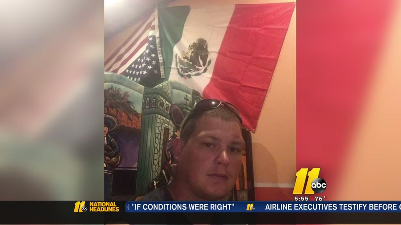 Upside-down U.S. flag causes furor in Creedmoor