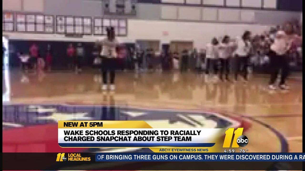Wake Schools responds to racist Snapchat post